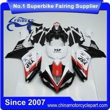 FFKYA005 Motorbike ABS Fairing Kit For R1 2009-2011 Motorcycle White And Black Ysp