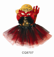 2016 hot sale red butterfly wing set with tutu, wand, mask