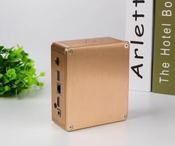 Ultra Low Power Mini Pc 12V Intel DDR3,USB3.0 Portable Mini Pc Case