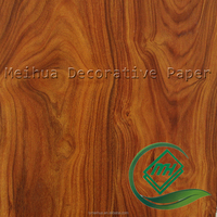 Chinese high quality wood grain decorative printing paper for furniture / wood grain contact paper