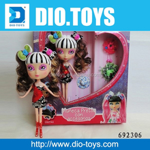 newest popular modern toy for children candy girl doll models for girl