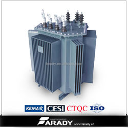 Isolation 3 phase step down power distribution transformer 33kv 11kv for wind