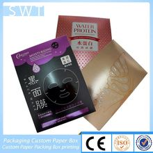 Lining Fabric Paper Box Gift Pack with Environmental protection material