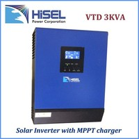 HiSEL brand high frequency solar energy system solar energy system price solar inverter 3kw 220v