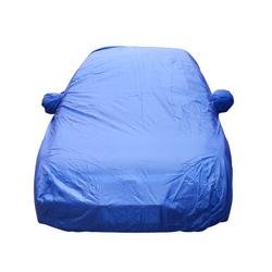 Popular Waterproof Automatic Folding Blue Car Cover