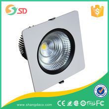3 inch 4 inch IP44 dimmable led downlight 9w led downlight cob 2700k