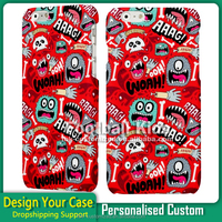 Custom Printed Phone Cases for iPhone 5/5C, Mobile Phone Cover for iPhone 5S