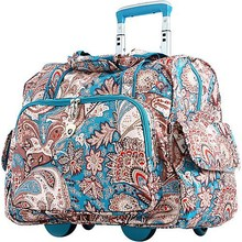 """Deluxe and Small 15"""" Laptop Capable Trolley Fashion Travel Luggage Bag"""