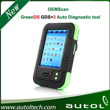 2014 New Arrival OEMScan GreenDS GDS+ 3 Professional Diagnostic Tool GreenDS + 3 With Printers Cover a lot car models