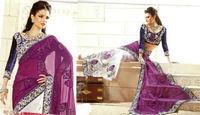 Beautiful Bridal Saree Blouse Design