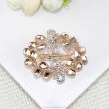 Best seliing big diamonds pretty hair clips hair accessory fashion design for stock