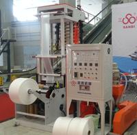 SJ-D 50.55 Mini Film Blowing Machine Automatic Extrusion Blown Film Equipment