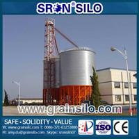 SRON 10-15000ton Bolt Assembly Grain Silo Steel Galvanized 276-600g/m2