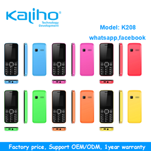factory supply small size with whatsapp facebook basic mobile phone