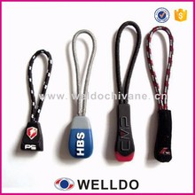 Factory price fashion rubber zipper slider for sportswear