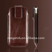 Mobile phone accessories phone case PU leather case for Blackberry bold 9900,for blackberry bold case