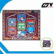Multi juego 7X ranura libre de juegos