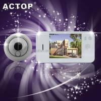 2014 hot sale 3.5 inch TFT door viewer peephole glass lens