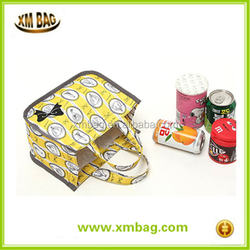 Handle type carton printed children meal bag