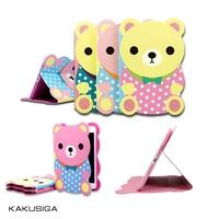 Cartoon Bear for iPad mini Cute Cover Case PC Design Case