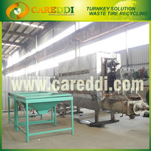 Good sale reclaimed rubber plant for tyre recycling