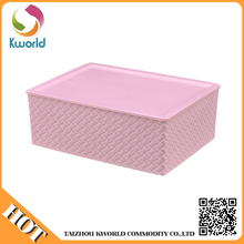China superior quality plastic foldable storage box,plastic box containers