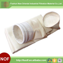 PPS Felt filter bag with water proof for coal fired power plants