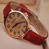 Luxury Women's watch Leather Analog Quartz dress Watches Reloj clock relojes mujer Cheapest watch