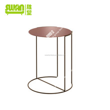 3044 rose golden promotion coffee table