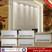 Low water absorption pearl white wall tile