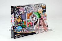 2014 new DIY Jewelry designer kids wire/string bead toys