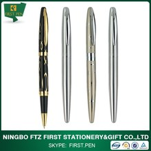 Elegant 0.5mm Refill Tip Metal Roller Ball Pen For Business Gift