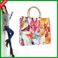 Zipper Design Cheap PP Woven Shopping Bags, Reusable Lamination Shopping Bags