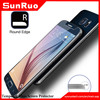 Real glass 0.3mm tempered glass for s6 screen protector,tempered glass protective film for galaxy s6