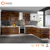 modular fitted melamine kitchen cabinet with high quality ,rta kitchen cabinet