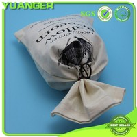 Rohs Approved 100% Natural Cotton Muslin Bags Wholesale Supplier Manufacturer