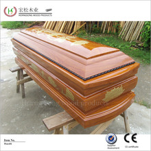 Golden wood product supplier wooden coffin dimensions best caskets