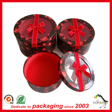round paper tube with lid advertising cake packaging round paper box kraft food