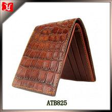 OEM brands man leather wallet crocodile skin