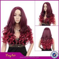 2015 New arrival synthetic cosplay cheap wigs