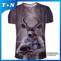 high quality newest design sublimation custom made t-shirts