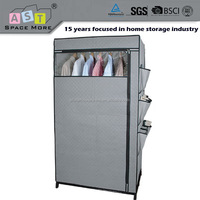 DIY producer supply cabinet plastic storage wardrobe with joints