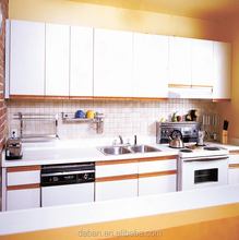 E0 plywood environment water resistance kitchen cabinet set for upscale house