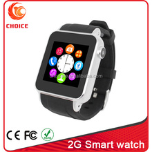 touch screen calculator watch mobile phone with 2.0 camera and tf card factory