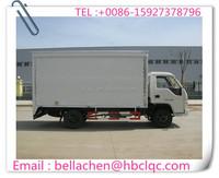 3000kg FORLAND dry box truck, diesel cargo van, delivery van