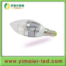 Simulated LED Candle Light 3w LED Candle Lampe E14
