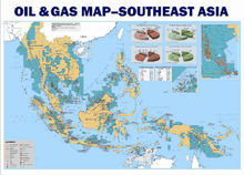 SouthEast Asia Oil & Gas Map