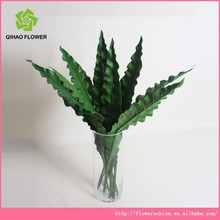 QiHao arts & crafts decorative high quality artificial leaves