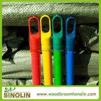 2015 hot sell pvc coated wooden broom cable