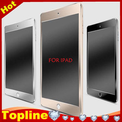 Full cover 9H 0.3mm 2.5D Aluminium Alloy Glass Screen Protector for ipad
